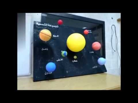 How To Make A Simple 3d Solar System Youtube