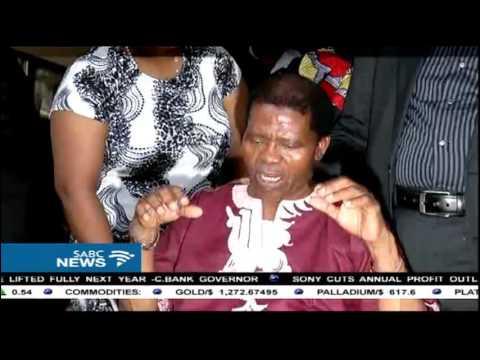 President Zuma visited Ladysmith Black Mambazo leader on Sunday