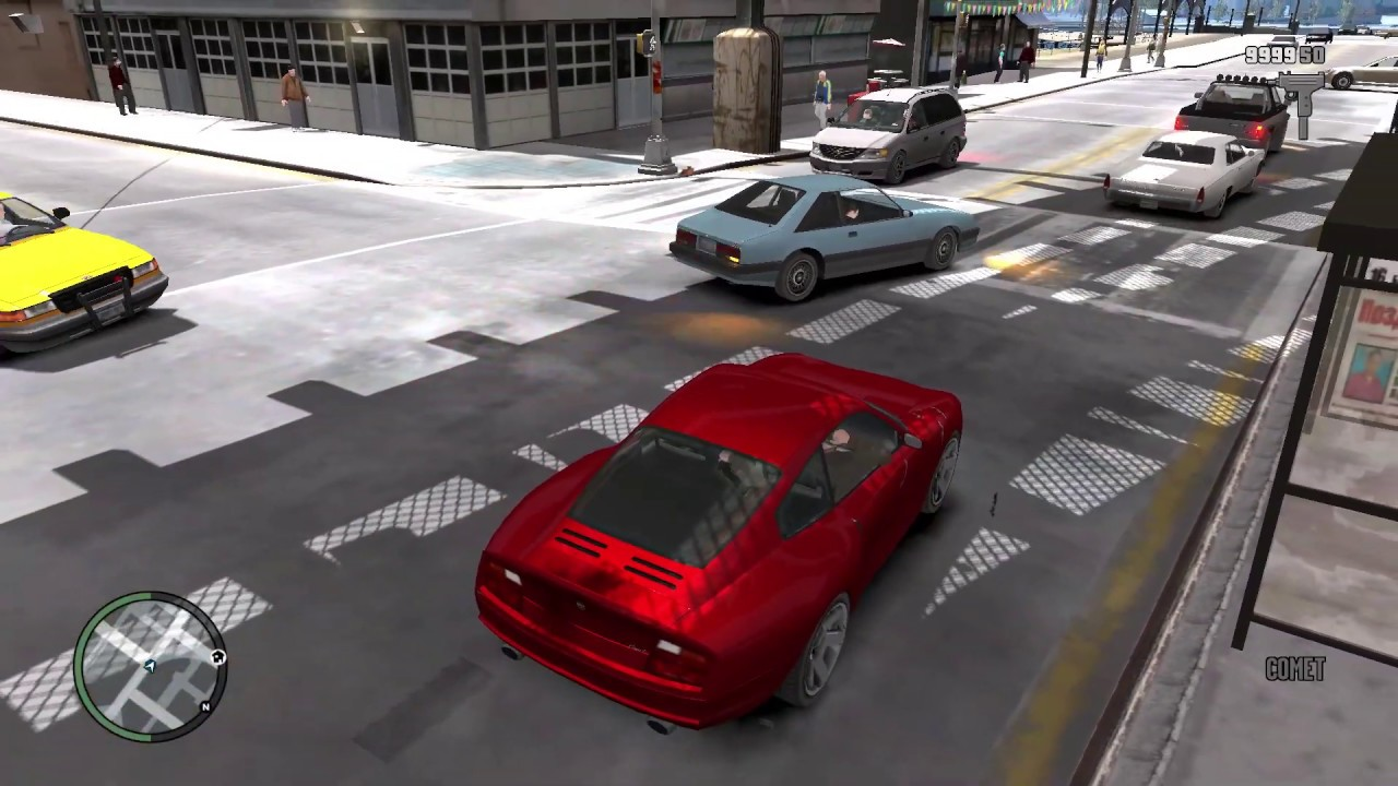 GTA 4 ULTRA REALISTIC GRAPHICS MOD Gameplay 2020