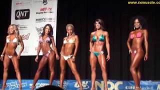 Repeat youtube video Bikini Class Comparisons at 2010 NPC Jr Nationals!