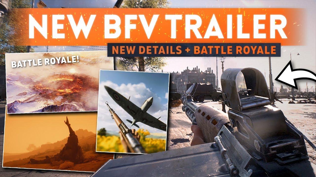 BATTLE ROYALE FIRST LOOK + New Weapons & Maps! - Battlefield 5 Gamescom Trailer Breakdown
