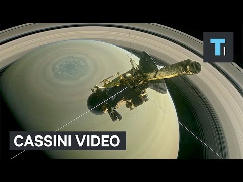 Thumbnail: NASA released its first incredible video of our closest look at Saturn yet