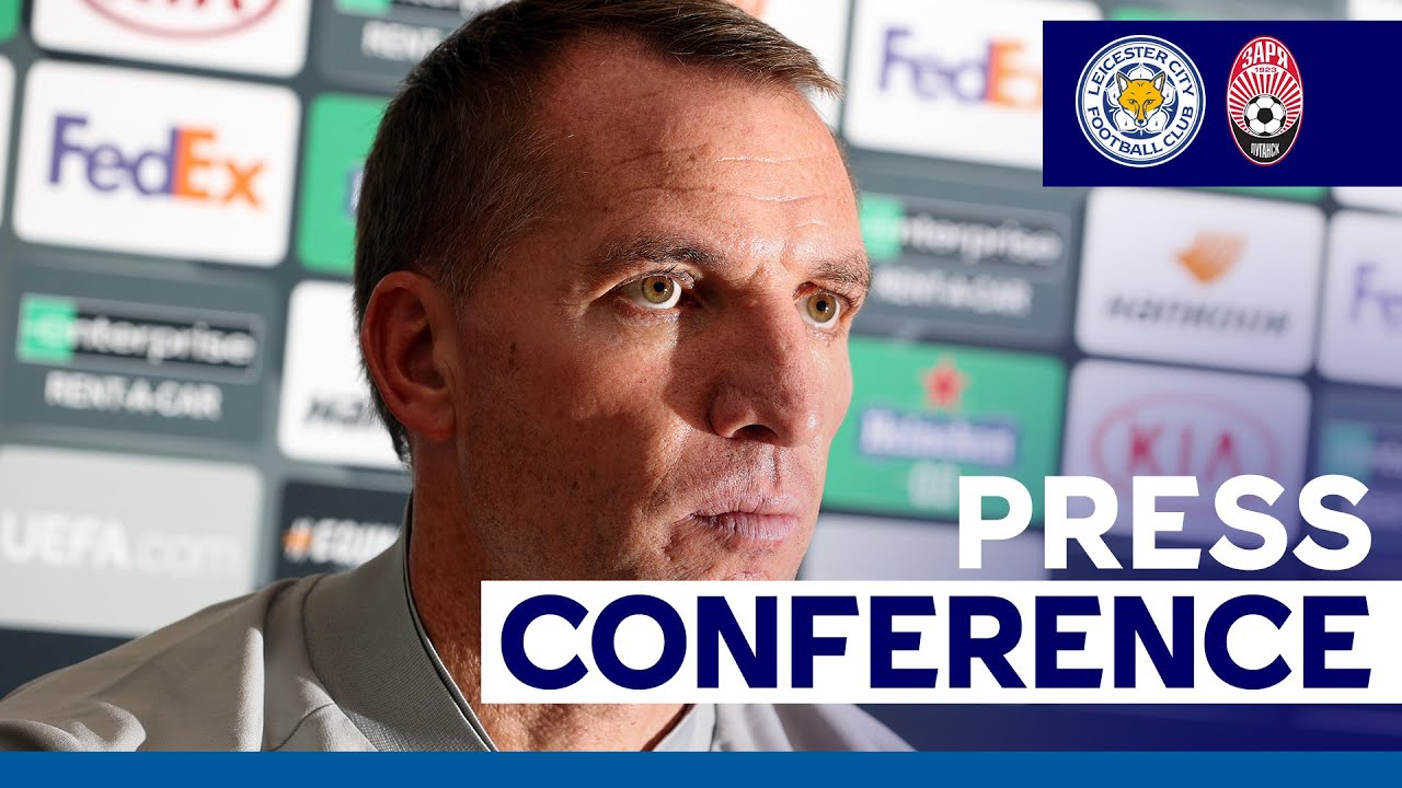 'A Great Tournament To Be In' - Brendan Rodgers ...
