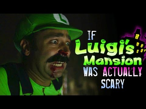If Luigi's Mansion Was Actually Scary