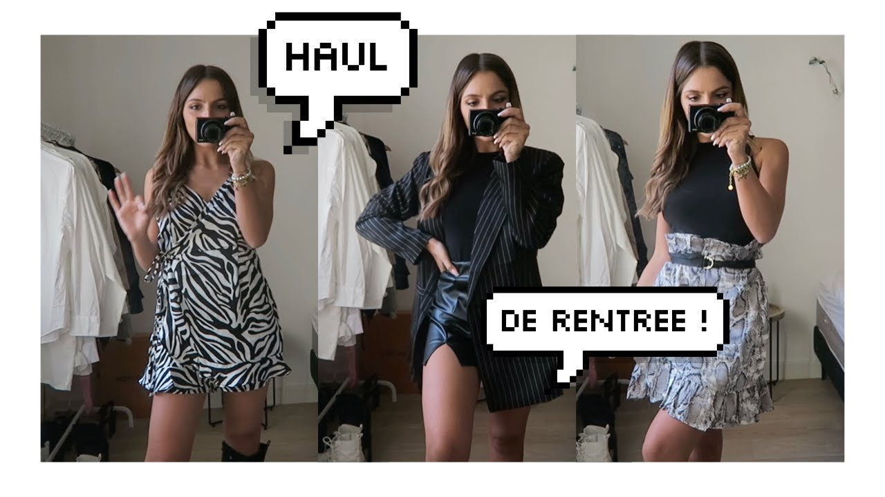 HAUL DE RENTREE BOOHOO !