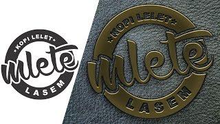 Tutorial Photoshop » Membuat Logo Timbul Emblem Emas Atau Kuningan