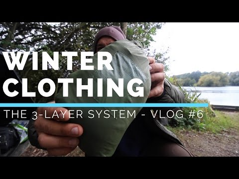 HOW TO KEEP WARM IN WINTER – 3 LAYER SYSTEM - VLOG #6