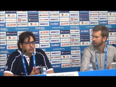 Εθνική Ανδρών | Ελλάδα - Σουηδία 79-51. Video : Δηλώσεις Andrea Trinchieri μετά των αγώνα