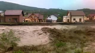 Casele de la vladesti luate de ape live