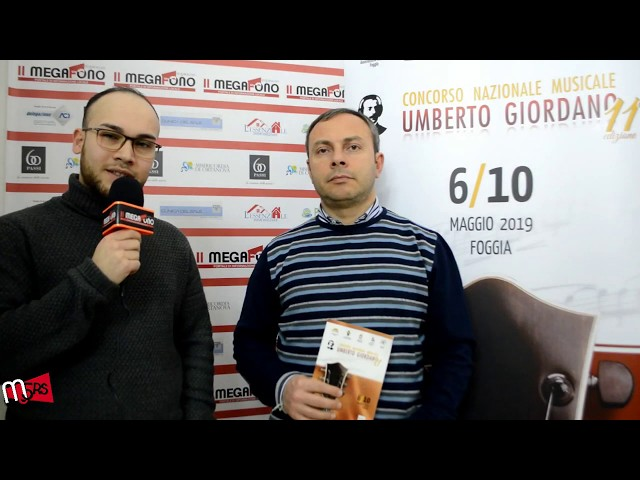 Concorso Nazionale Umberto Giordano - Intervista a Lorenzo Ciuffreda