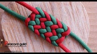 Flat Herringbone Knot- Trama Esterilla