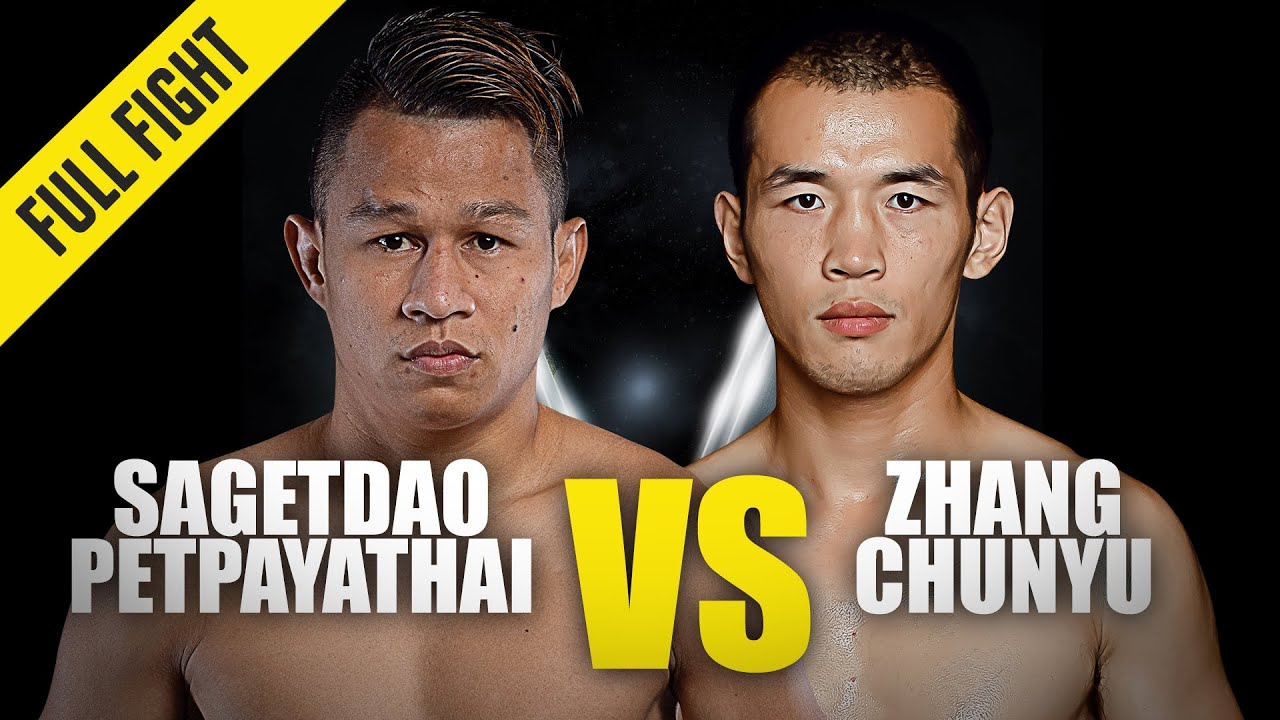 Sagetdao Petpayathai vs. Zhang Chunyu | ONE Championship Full Fight