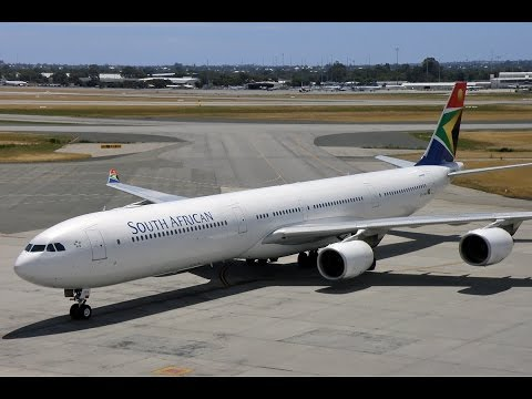New York JFK (KJFK) to Johannesburg Tambo Intl (FAOR) FSX South African A340-600 with Forced Landing