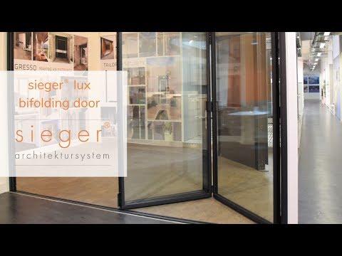 Sieger® Lux Bifolding Door I Sieger® Aluminium