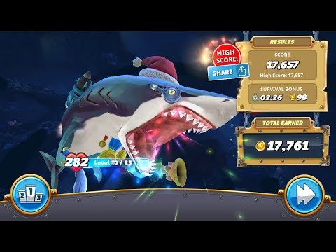 Most Gold Earn Using Gold Medal in Harbor Map Live Contest part 2 - Hungry Shark World