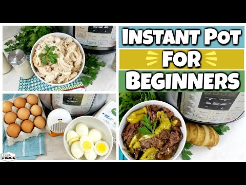 Instant Pot 101: EASY Recipes For Beginners