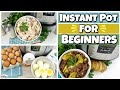 4 EASIEST Instant Pot Recipes PERFECT For Beginners