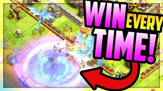 WIN EVERY TIME with the ODDEST Strategy EVER in Clash of Clans