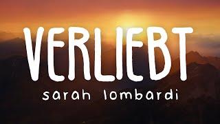 Sarah Lombardi - Verliebt (Lyric Video)