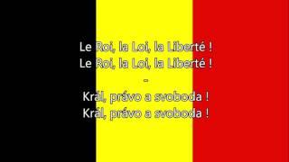 Belgická hymna (FR/DE/NL/CZ text) - Anthem of Belgium