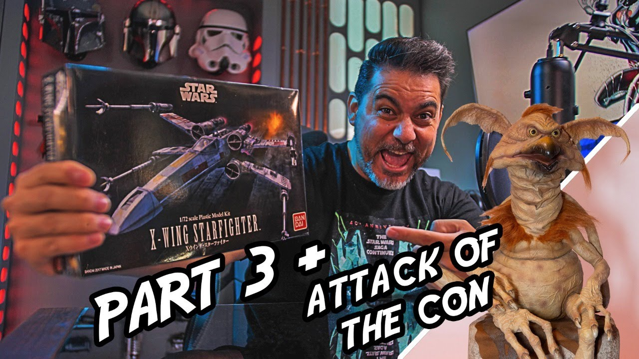 Download Sideshow Con Strikes Back! Star Wars Collecting News and Model Building!