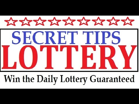 Secret Tips to win the Lottery Guaranteed winning everytime - YouTube