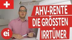 AHV und ihre Irrtümer!