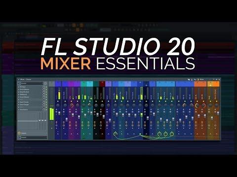 FL Studio 20 Basics - The Mixer