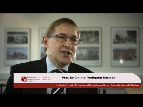 Prof. Wolfgang Kersten zum Schulungsangebot des Mittelstand 4.0-Kompetenzzentrums Hamburg