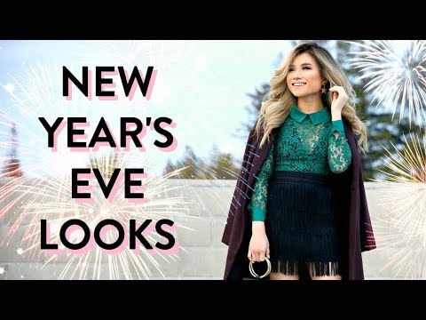 New Year's Eve Fashion Lookbook with Modcloth | ModCloth Clothing Haul | Miss Louie