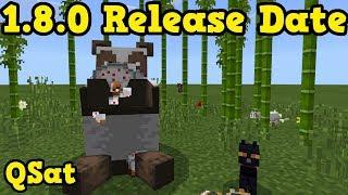 Minecraft Bedrock 1.8 Release Date Java Redstone