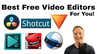 Top 6 FREE Video Editors for YOU to try! (Easy to Advanced)
