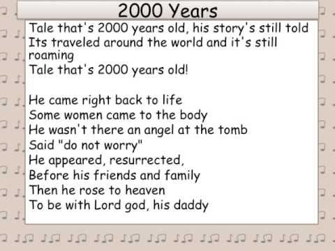 Tale That's 2000 Years Old (An Easter Song)