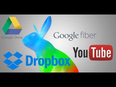 Google Fiber Upload test 2016