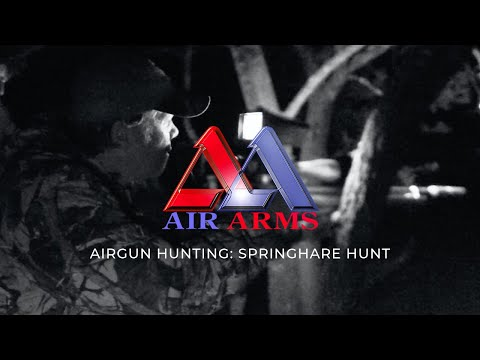 Springhare Airgun Hunting In South Africa With Richard Leonard