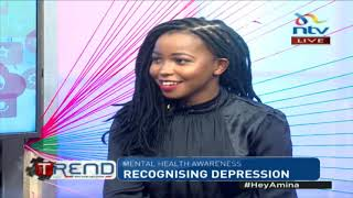 Recognising and living with depression || The trend
