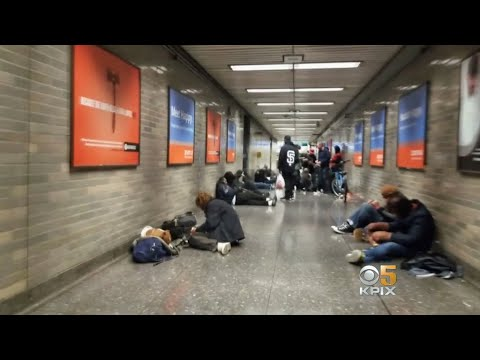 BART Officials Appalled by Video of Rampant Drug Use at Civic Center