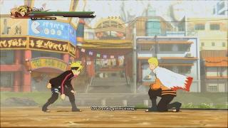 Naruto Ninja Storm 4 Road to Boruto PC 60 FPS  - Boruto vs Hokage Naruto Boss Battle Fight 1080p