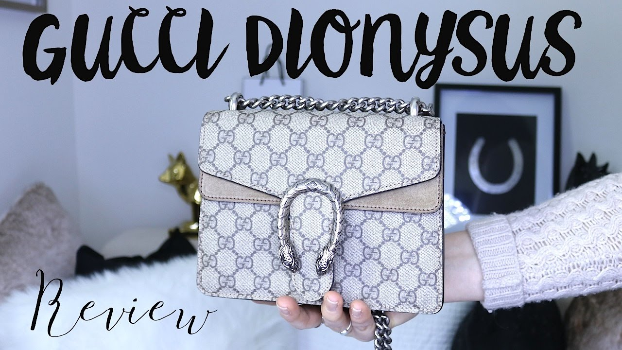 4e1eebc89bd Gucci Dionysus handbag review - YouTube