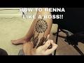 Epic Dreamcatcher Henna Tattoo #ArtsyCreativeVibe