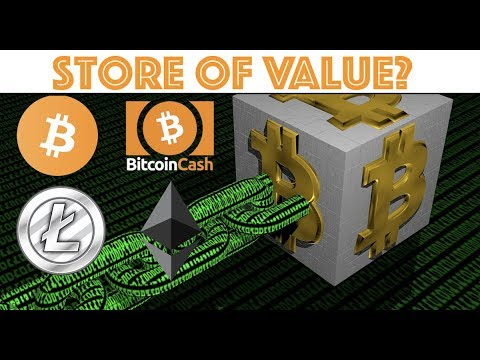 Best Store of Value For Cryptocurrency? Ethereum - Bitcoin - Litecoin - Bitcoin Cash