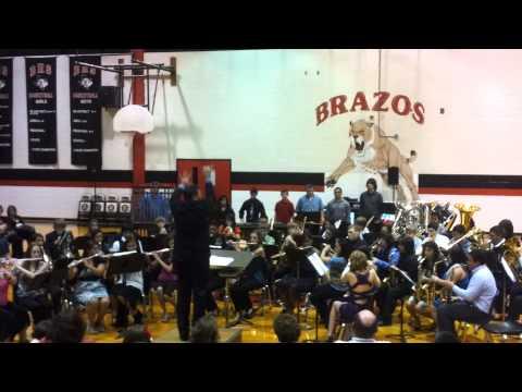 "Brazos High School Band- ""Silent Night"""
