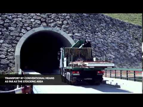 Waterproofing the Pajares railroad tunnels