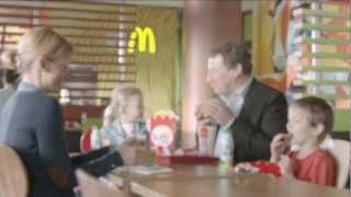Raffinierte, lustige (Familien-) McDonalds Werbung
