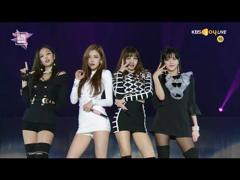 BLACKPINK - INTRO +'마지막처럼 (AS IF IT'S YOUR LAST)' in 2018 Seoul Music Awards
