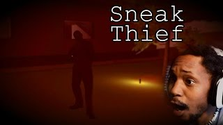 Gambar cover I'M DONE, THESE DUDES HAVE AK's | Sneak Thief [Part 3] (Mansion Complete)