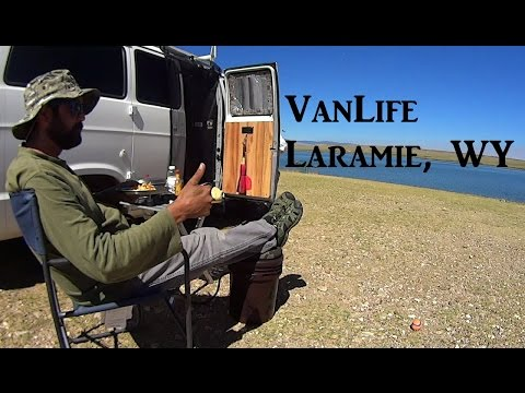VanLife Laramie Wyoming On the Road