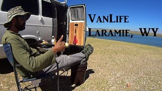 VanLife Laramie Wyoming On the Road