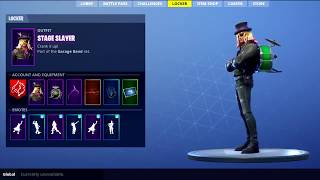 LEAKED *NEW* STAGE SLAYER SKIN SHOWCASE WITH BACKBLING Fortnite Battle Royale