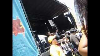 Yellowcard - Breathing (Live in Pomona, California / Warped Tour 6/22/2012)